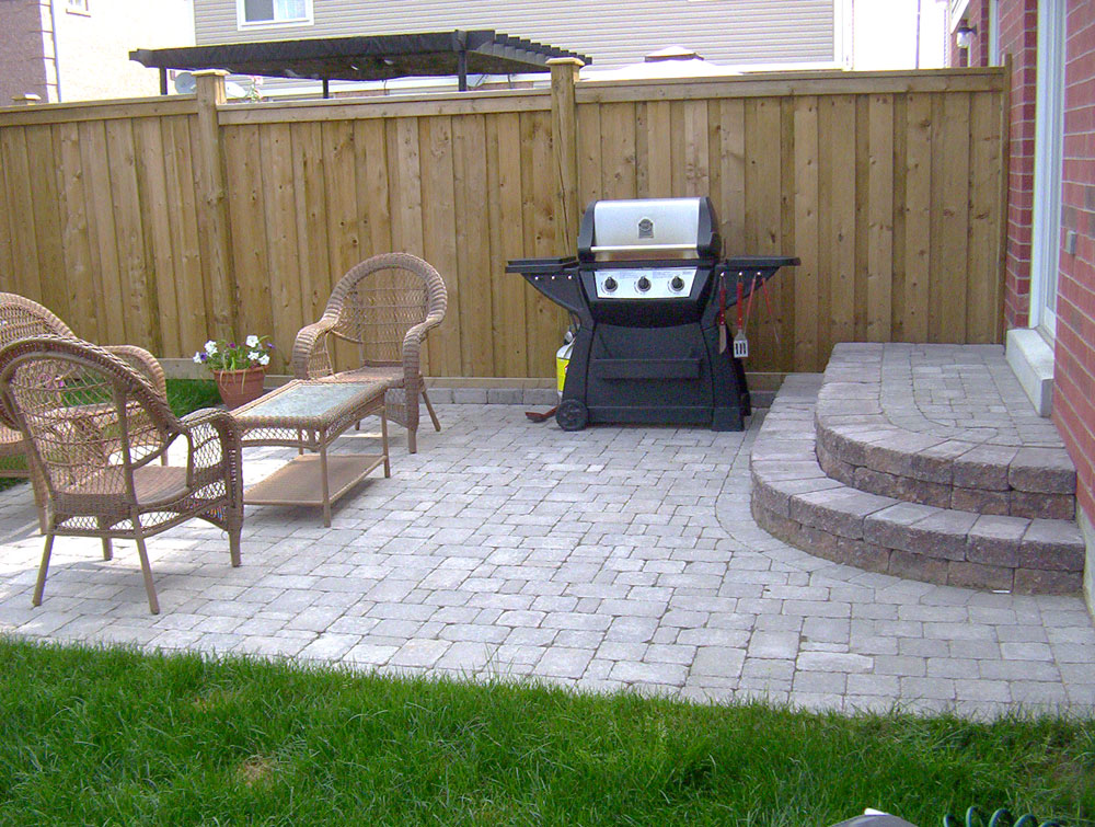 Picture of: Backyard Patio Ideas Stone