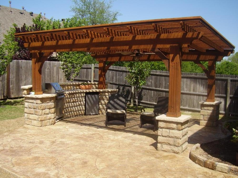 Image of: Backyard Patio Ideas on a Budget