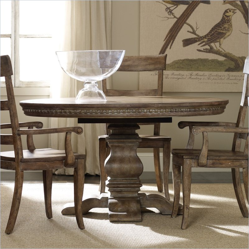 Image of: Base Oval Dining Table with Leaf