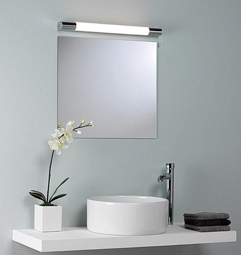 Image of: Bathroom Vanity Mirrors with Light