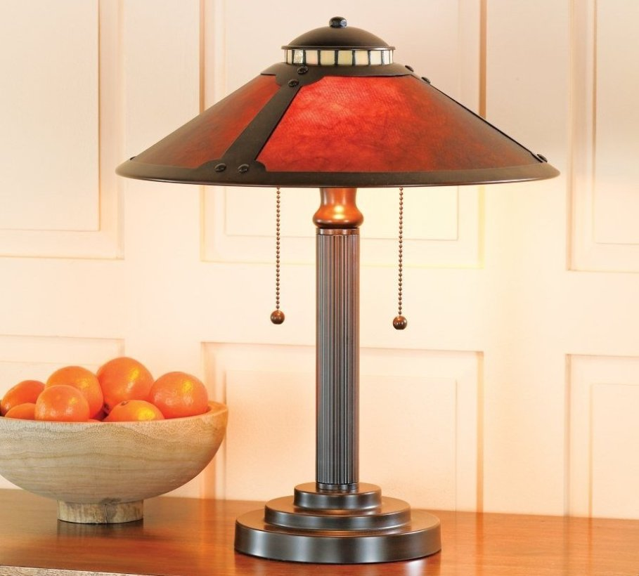 Image of: Beautiful Wrought Iron Table Lamps