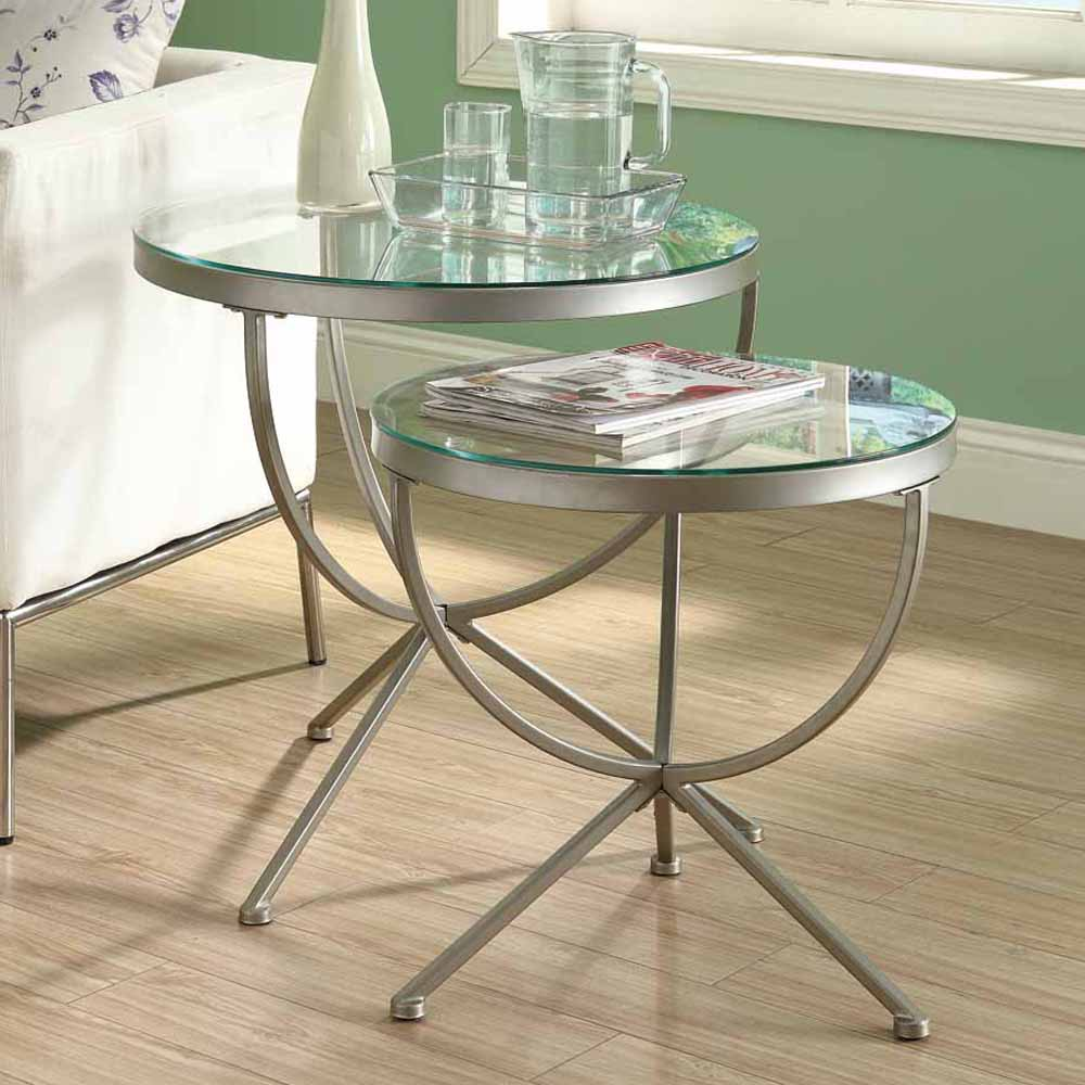 Picture of: Best Glass Nesting Tables