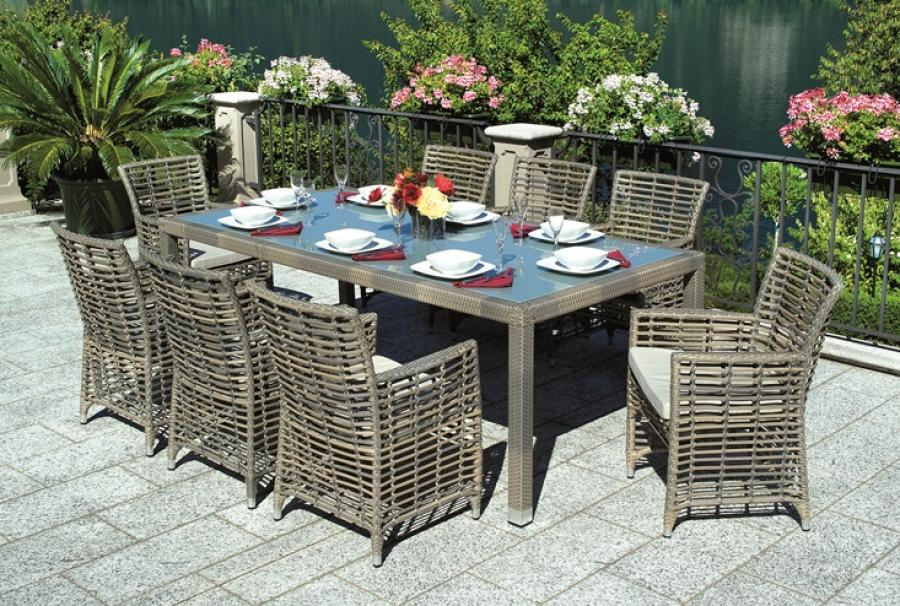 Image of: Best Rectangular Patio Table