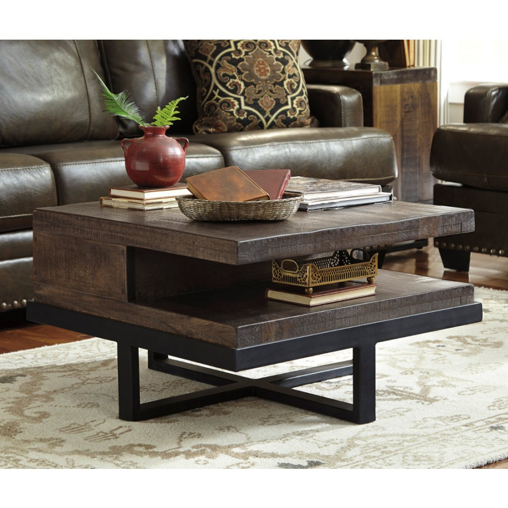 Image of: Best Square Coffee Table Wood