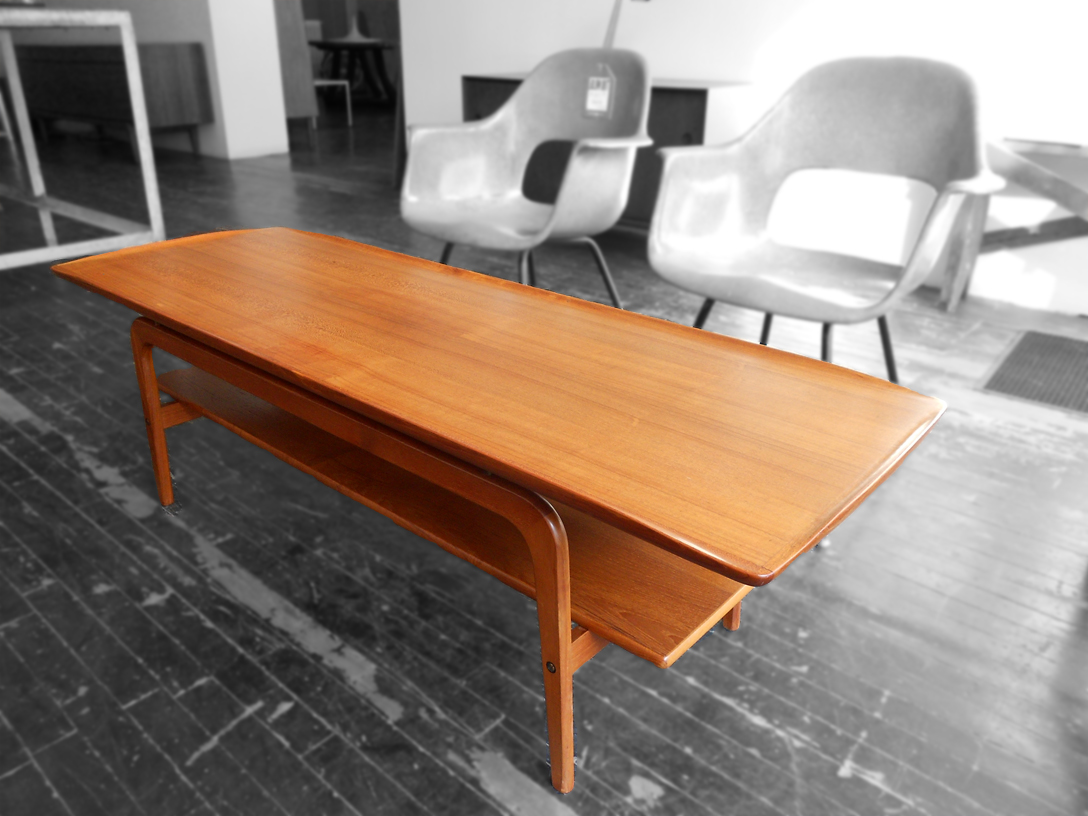 Image of: best teak coffee table