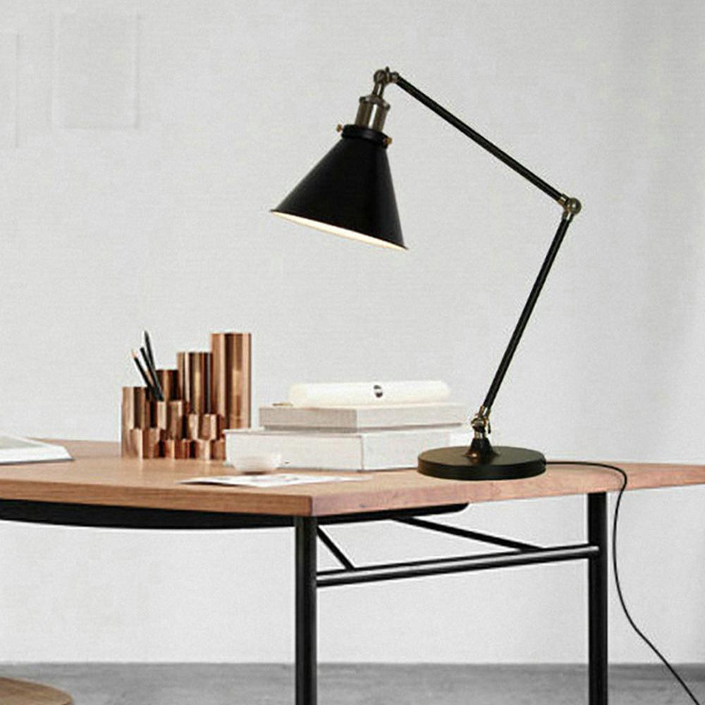 Image of: Black Wrought Iron Table Lamps