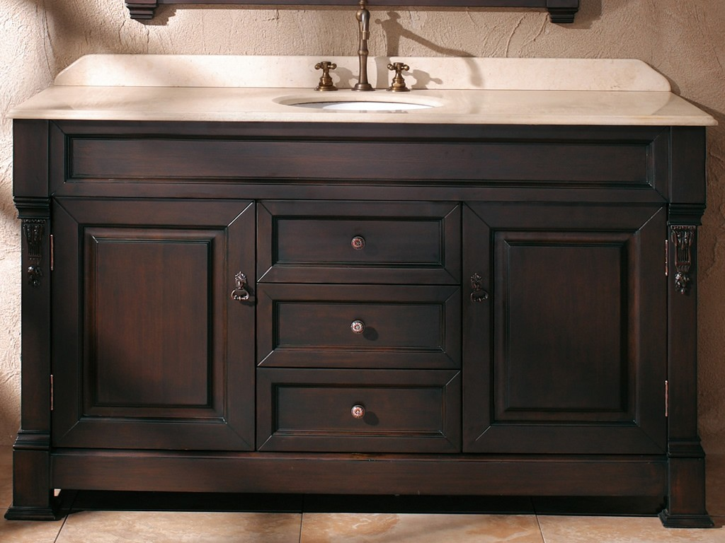 Image of: Briliant 72 Bathroom Vanity Double Sink