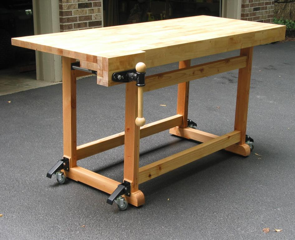 Image of: Build Portable Workbench