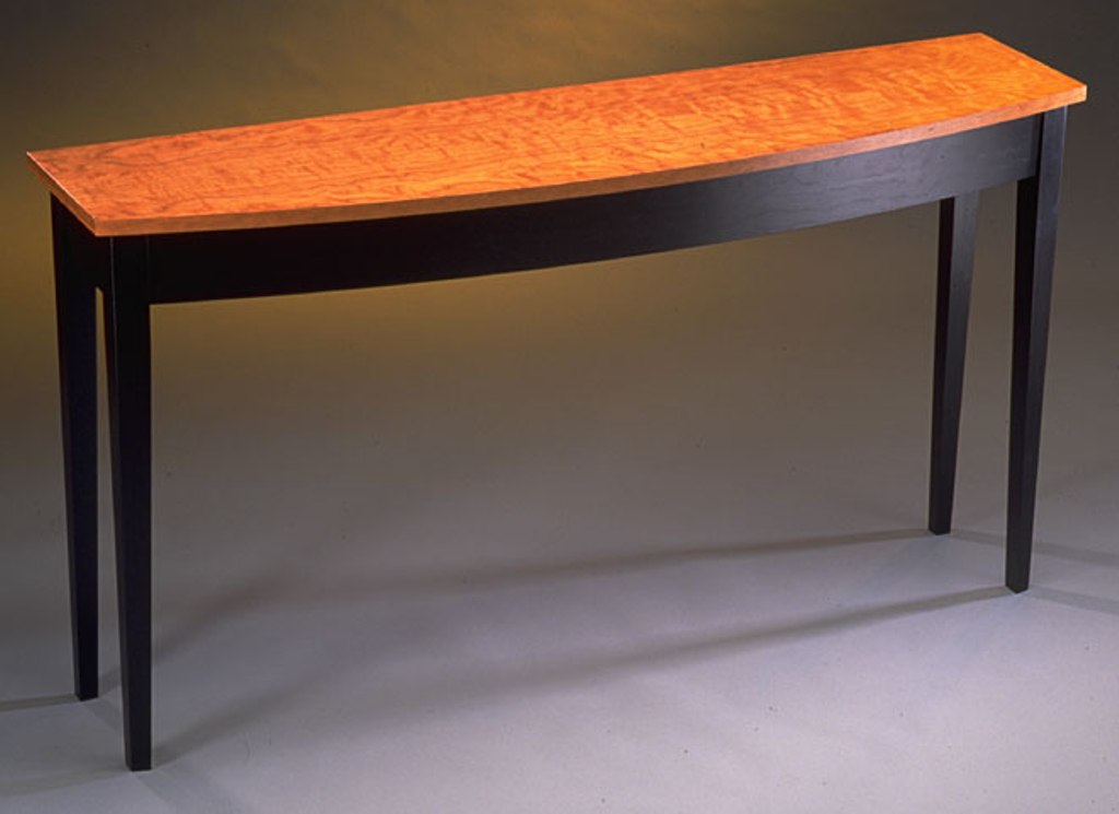 Image of: Cherry Sofa Table with Drawers