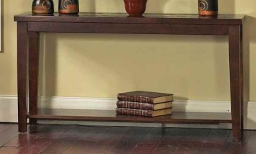 Image of: Cherry Sofa Tables with Storage