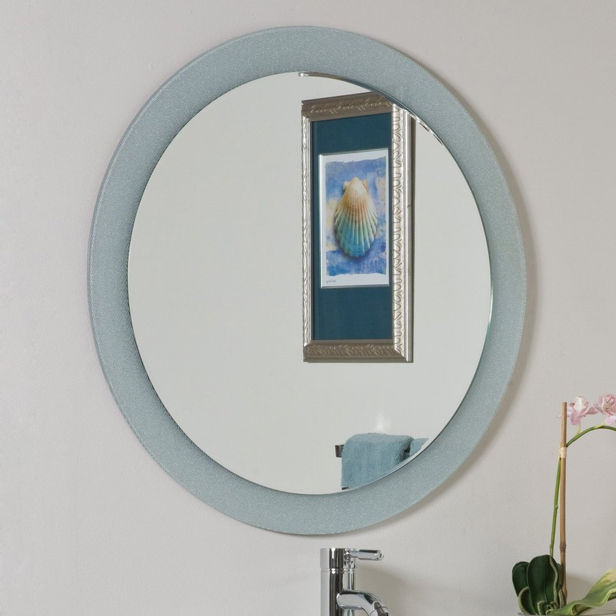Image of: Circle Bathroom Vanity Mirrors