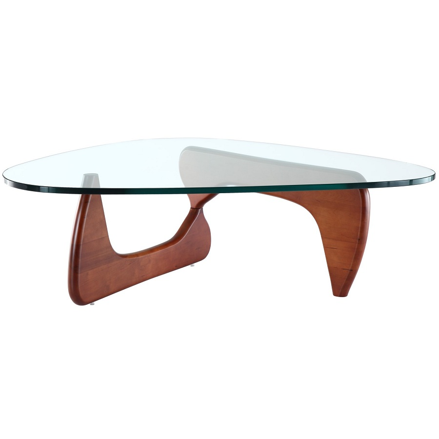 Image of: Compact Tempered Glass Coffee Table