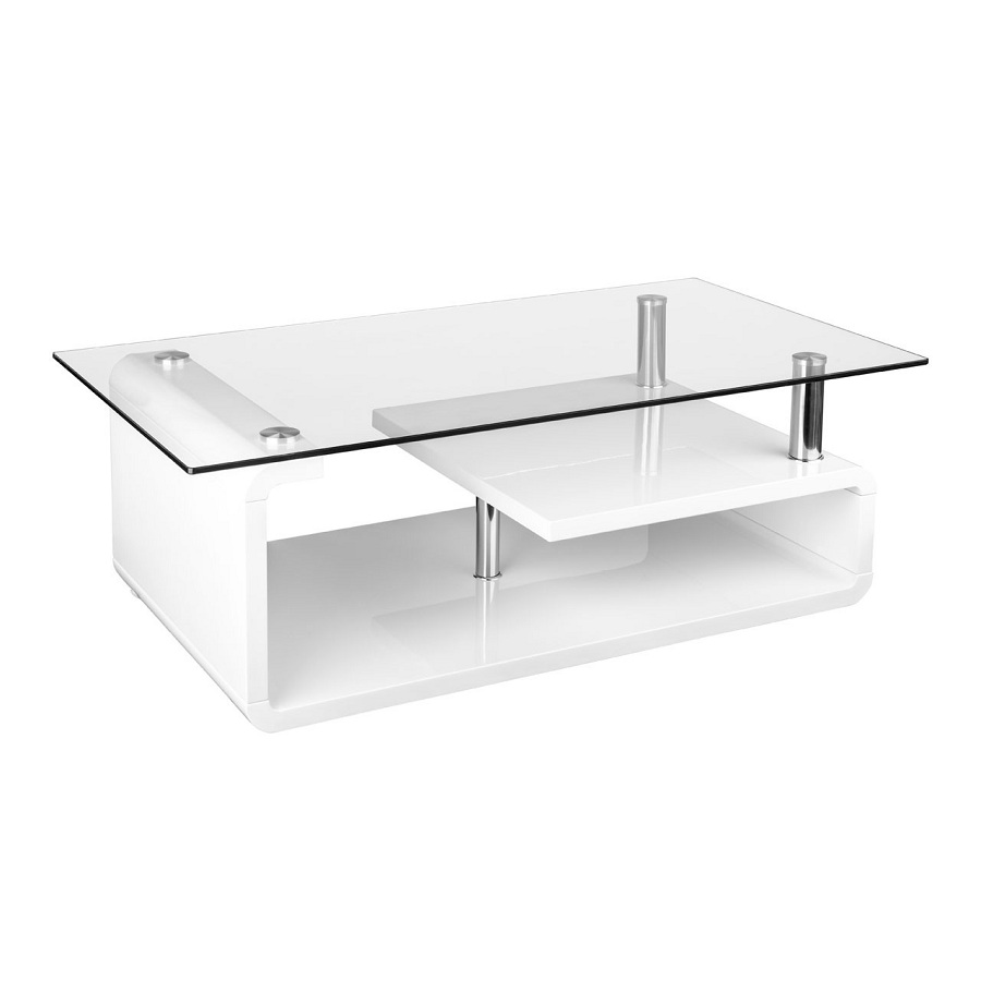 Image of: Concept Tempered Glass Coffee Table