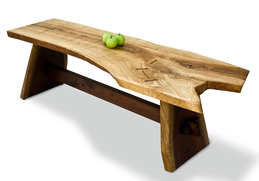 Image of: Concept Wood Slab Tables