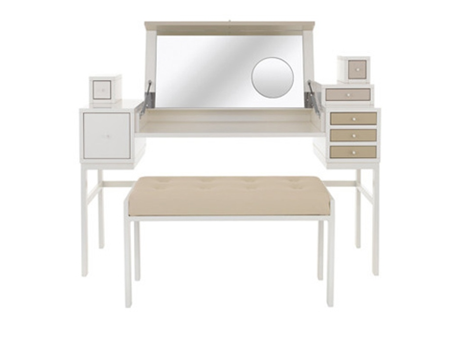 Image of: Contemporary Makeup Contemporary Vanity Table