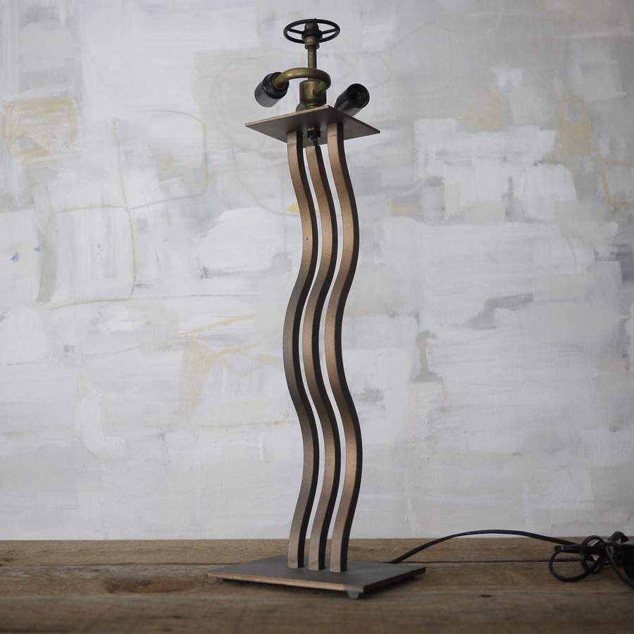 Picture of: Contemporary Wrought Iron Table Lamps