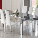 Contemporary Glass Dining Room Table Sets