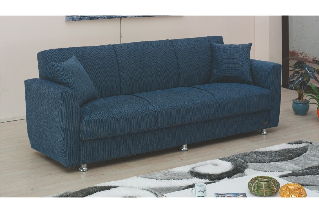 Picture of: Convertible Futon Sofa Bed With Storage