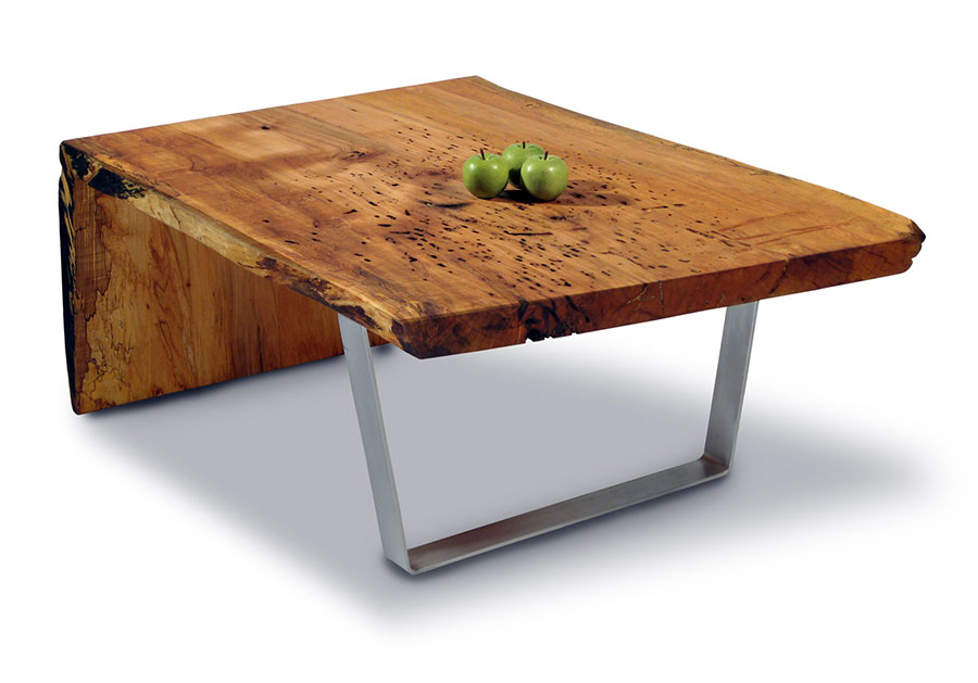 Image of: Cool Wood Slab Tables