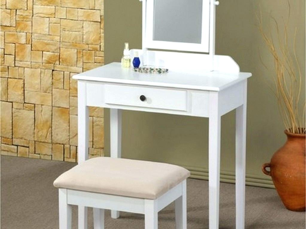 Image of: Corner Bedroom Vanity Table