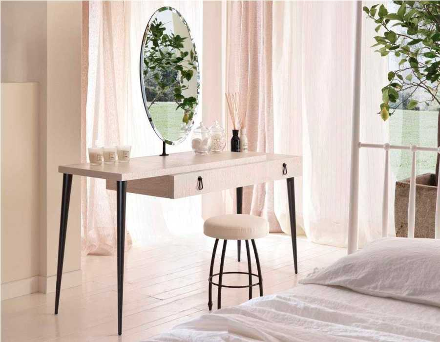 Corner Contemporary Vanity Table