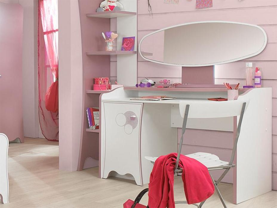 Picture of: Cosmetic Contemporary Vanity Table