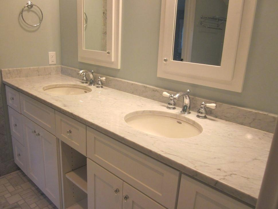 Image of: Cost of Double Sink Vanity Top