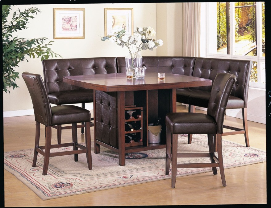 Image of: Counter height dining table sets cheap