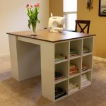 Craft Table With Storage Minimalist