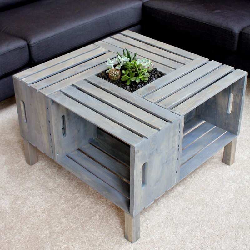 Picture of: DIY Patio Coffee Table