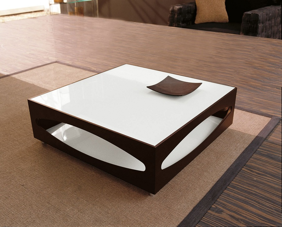 Image of: Decoration Tempered Glass Coffee Table