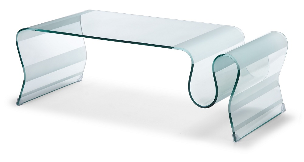 Image of: Design Tempered Glass Coffee Table