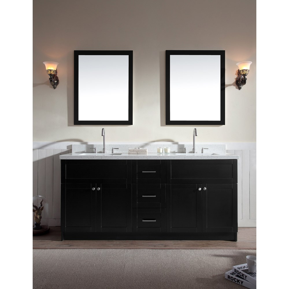 Image of: Discount Double Sink Vanity Top