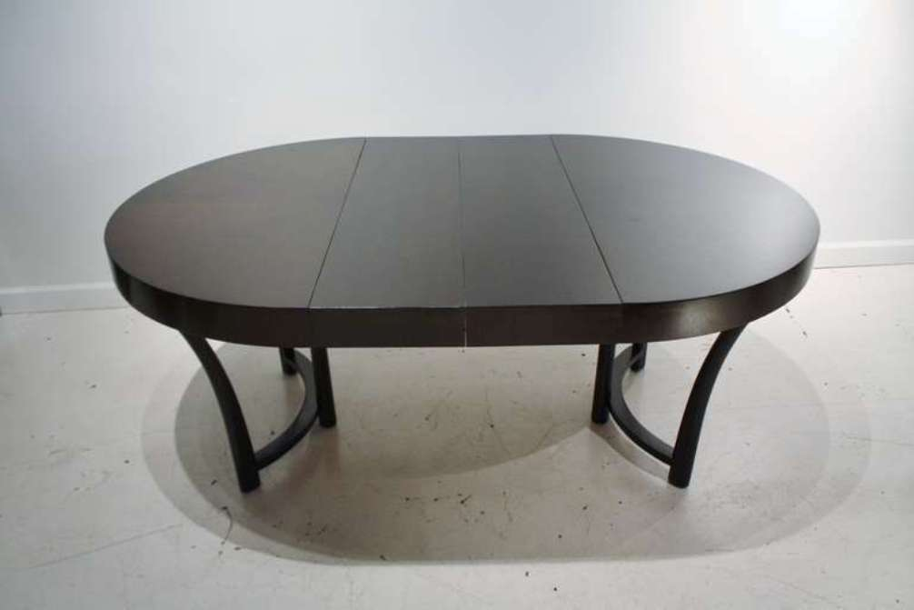 Picture of: Expandable round dining table for 12