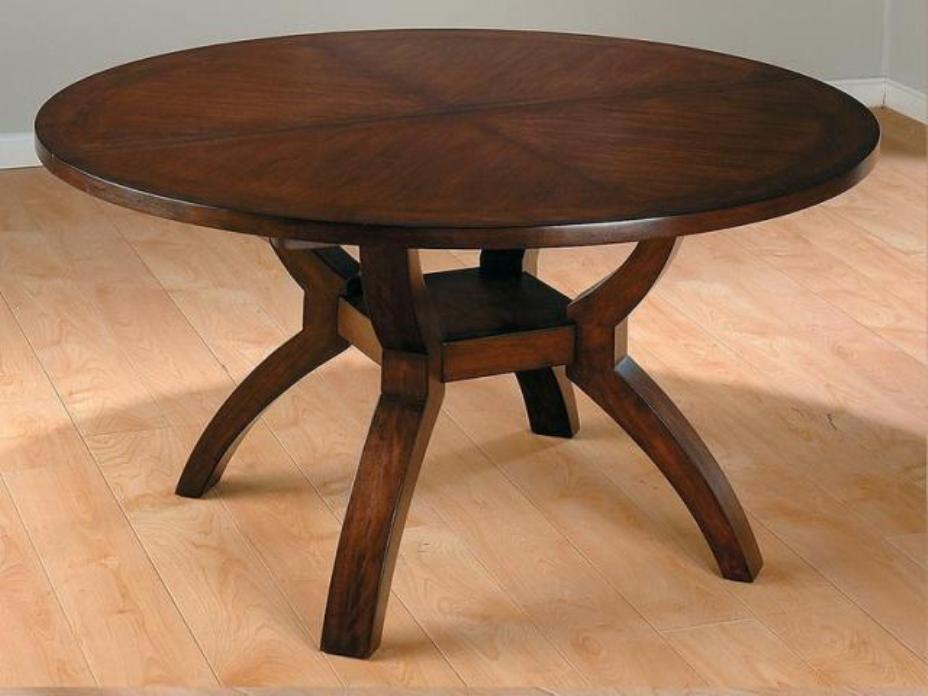 Picture of: Modern Expandable Round Dining Table