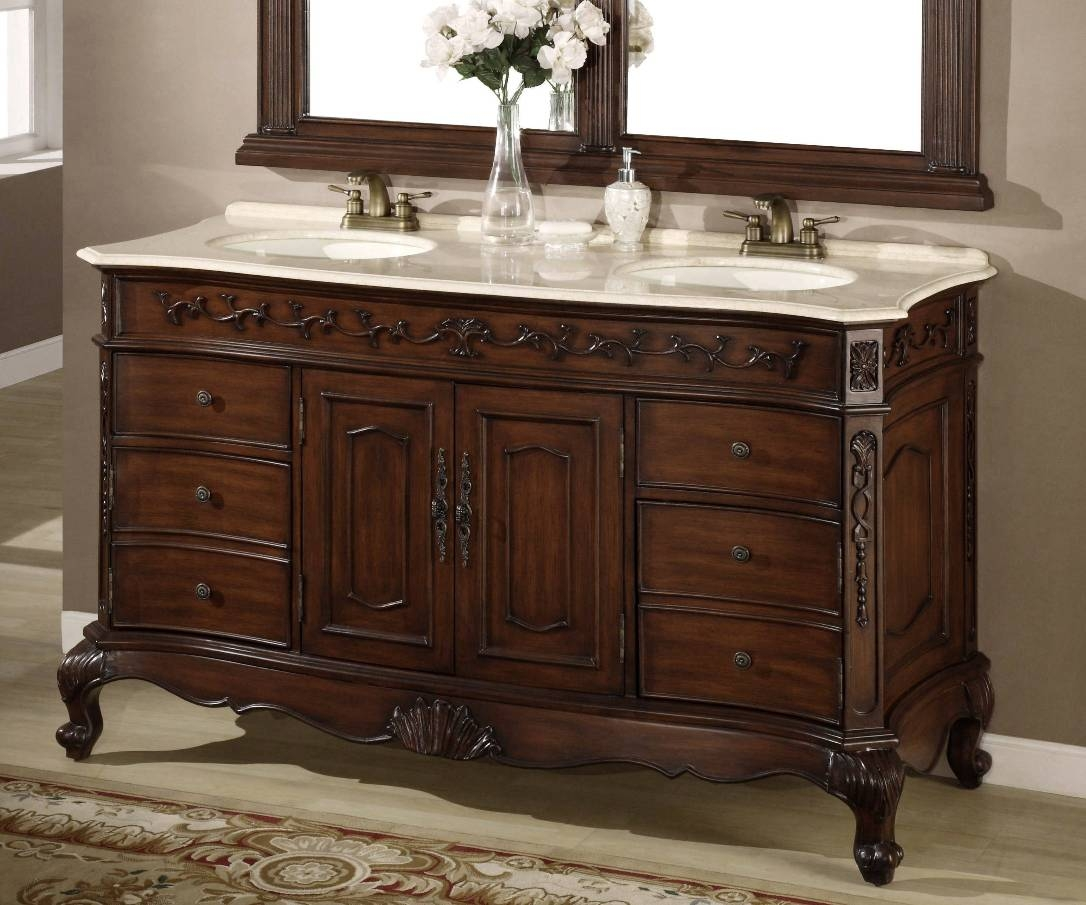 Picture of: Farmhouse Bathroom Vanity Classic