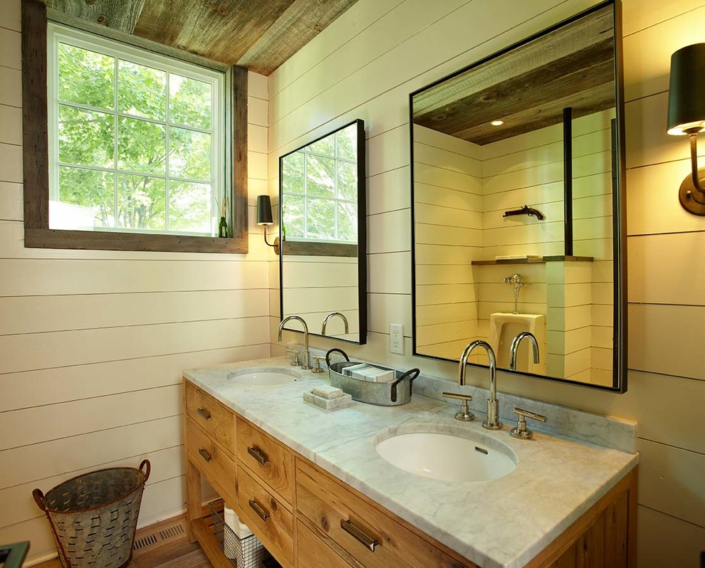Picture of: Farmhouse Bathroom Vanity Ideas