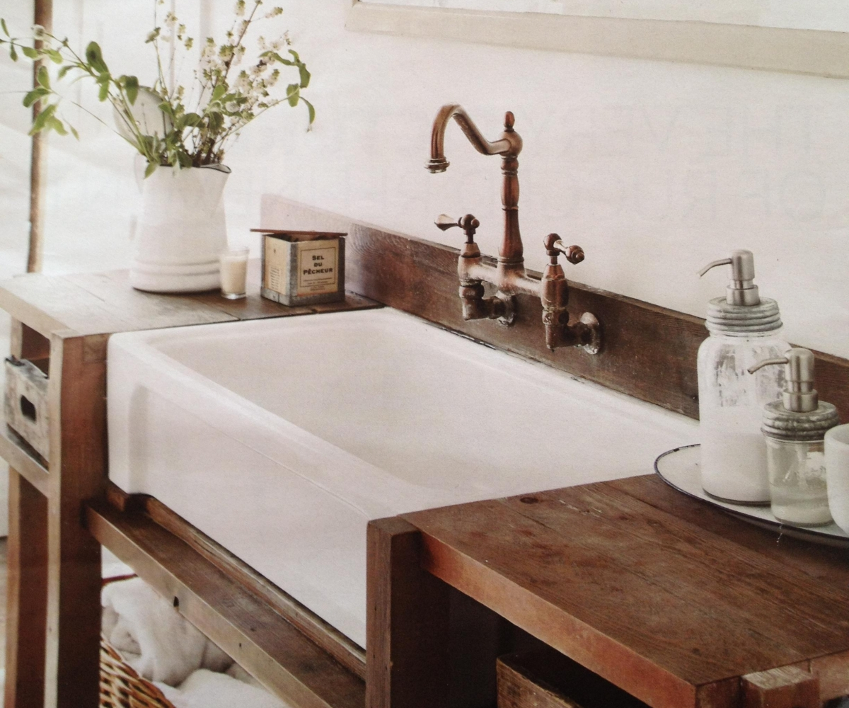 Picture of: Farmhouse Bathroom Vanity Innovation