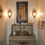 Farmhouse Bathroom Vanity Simple
