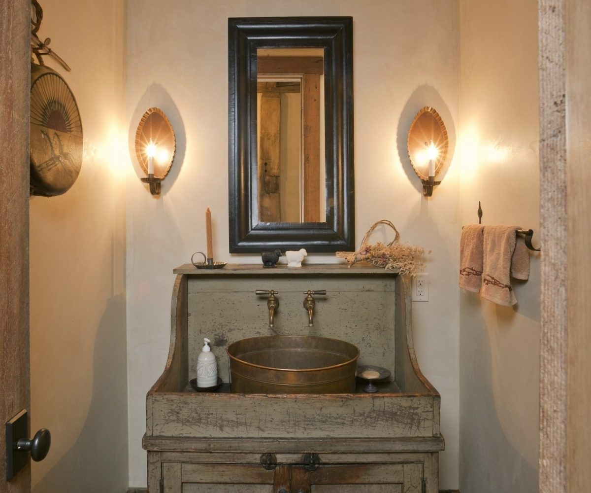 Picture of: Farmhouse Bathroom Vanity Simple