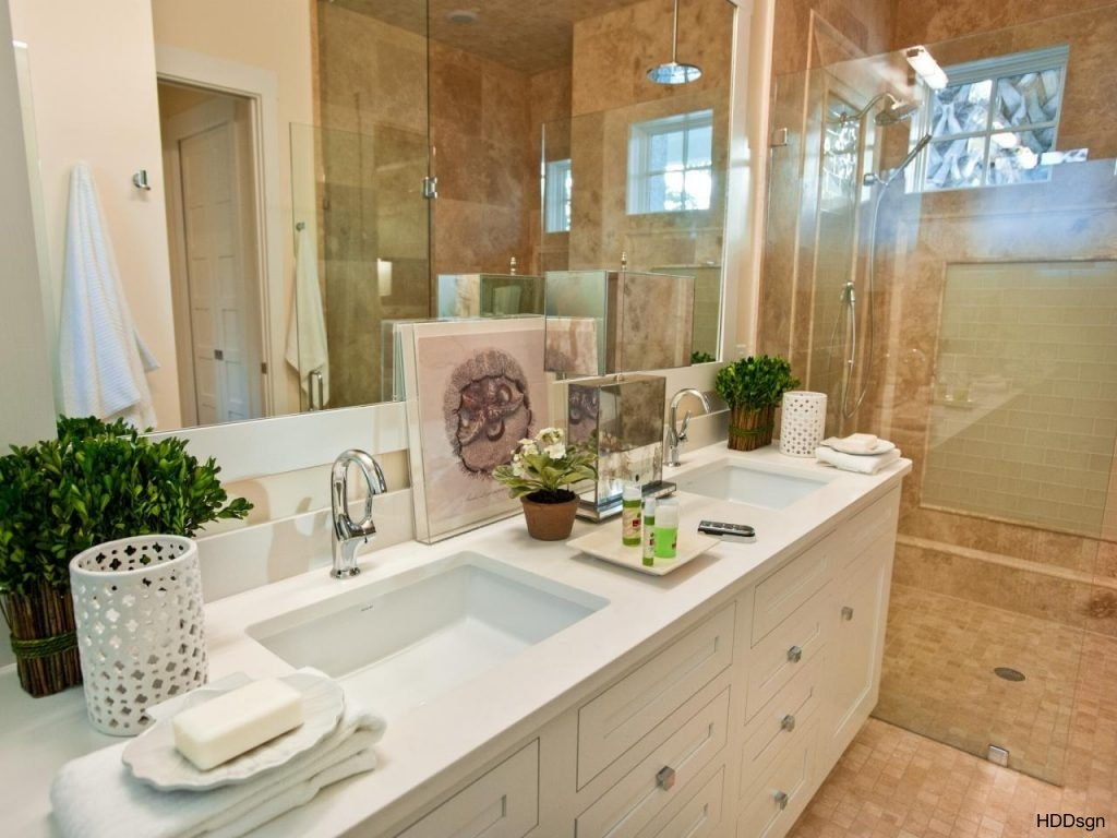 Image of: Framed 72 Bathroom Vanity Double Sink