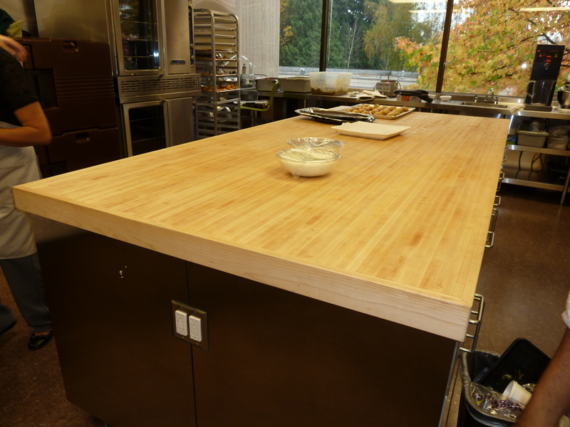 Image of: Furniture Butcher Block Table Tops