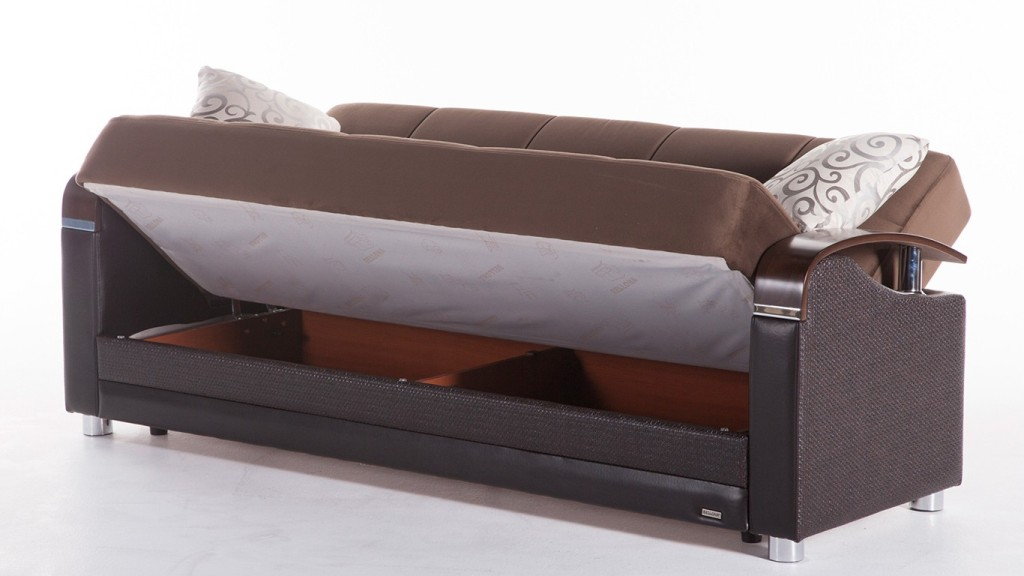 Image of: Futon Sofa With Storage