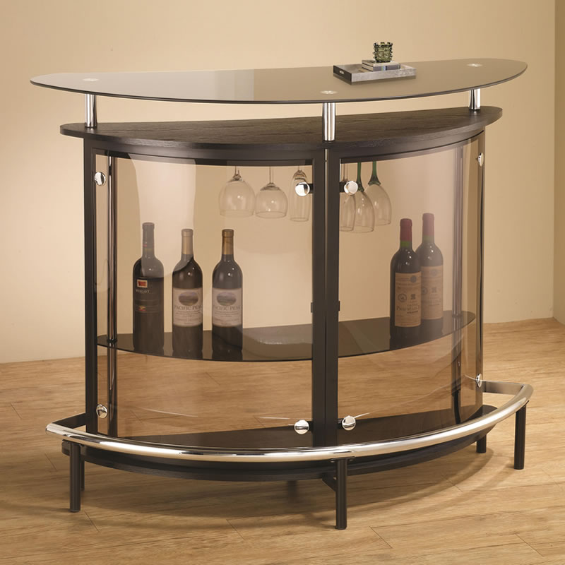Picture of: Glass Bistro Table Contemporary Home