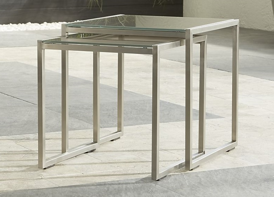 Picture of: Glass Nesting Tables Ideas