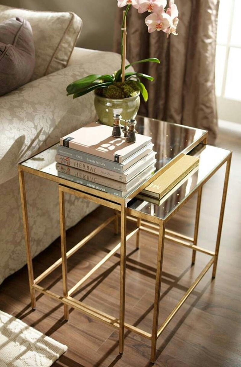 Picture of: Glass Nesting Tables