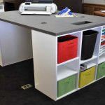 Great Craft Table With Storage