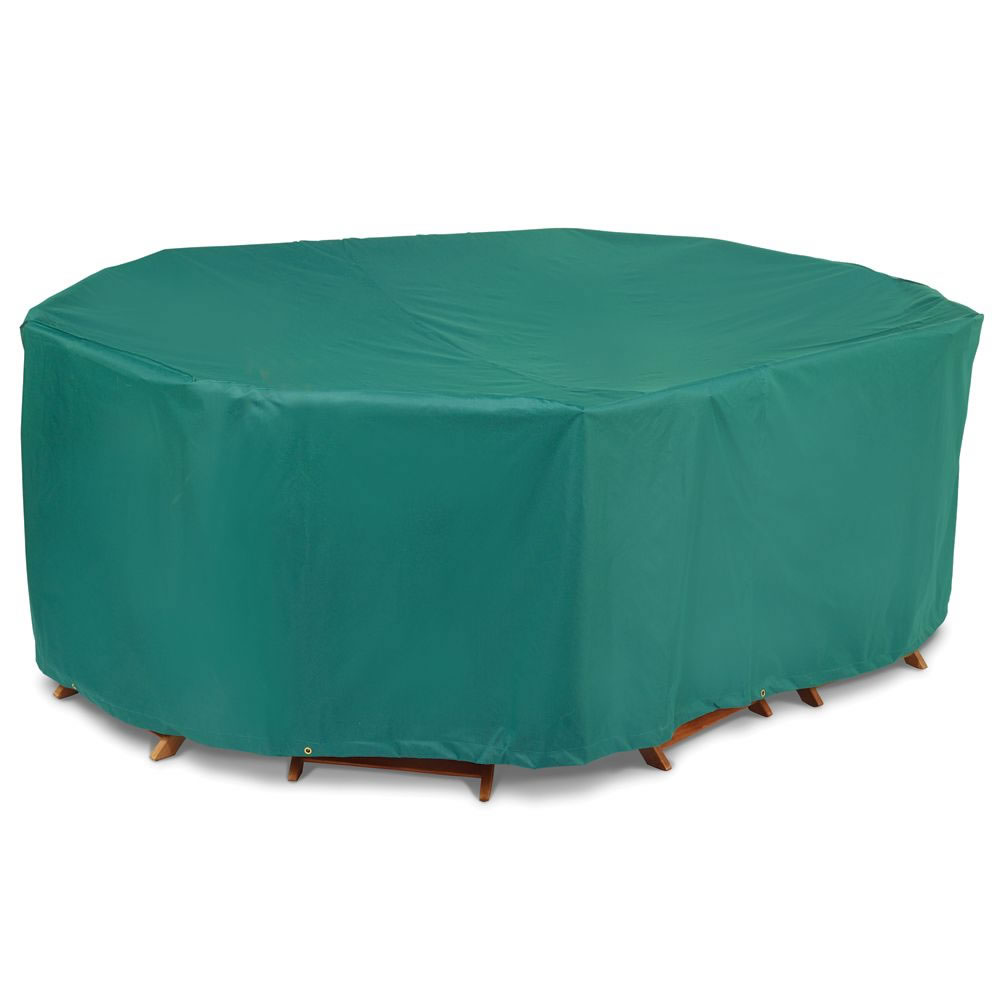 Picture of: Green patio table cover
