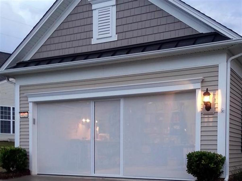 Picture of: Henderson Garage Doors Screens Retractable