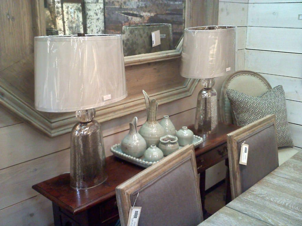 Picture of: Ideas Mercury Glass Table Lamp